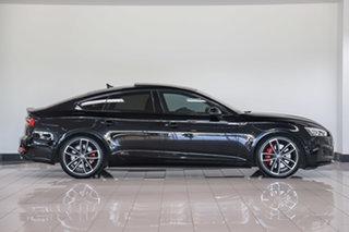 2018 Audi S5 F5 MY18 Sportback Tiptronic Quattro Mythos Black 8 Speed Sports Automatic Hatchback
