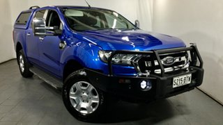 2017 Ford Ranger PX MkII XLT Double Cab 4x2 Hi-Rider Blue 6 Speed Sports Automatic Utility.