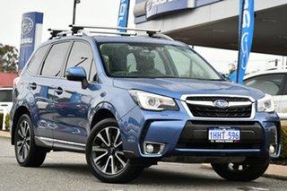 2018 Subaru Forester S4 MY18 XT CVT AWD Premium Blue 8 Speed Constant Variable Wagon.