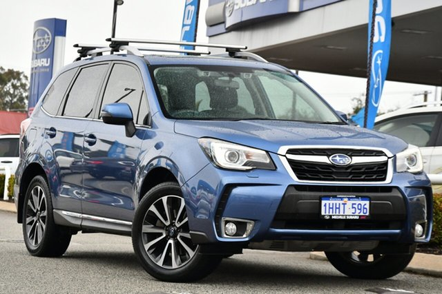 Used Subaru Forester S4 MY18 XT CVT AWD Premium Melville, 2018 Subaru Forester S4 MY18 XT CVT AWD Premium Blue 8 Speed Constant Variable Wagon