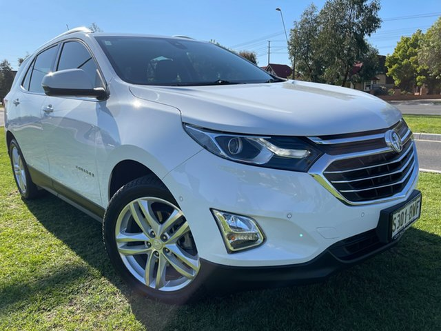 Used Holden Equinox EQ MY18 LTZ AWD Hindmarsh, 2018 Holden Equinox EQ MY18 LTZ AWD White 6 Speed Sports Automatic Wagon