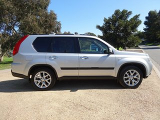 2011 Nissan X-Trail T31 Series IV TI Silver 1 Speed Constant Variable Wagon