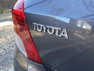2010 Toyota Yaris NCP90R MY11 YR Graphite 4 Speed Automatic Hatchback