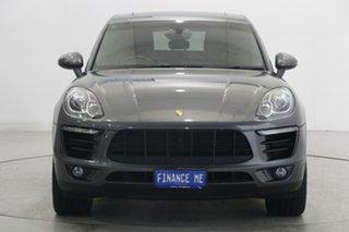 2014 Porsche Macan 95B MY15 S PDK AWD Grey 7 Speed Sports Automatic Dual Clutch Wagon.