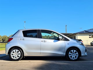 2015 Toyota Yaris NCP131R SX Silver 4 Speed Automatic Hatchback.