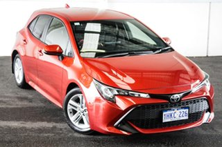 2018 Toyota Corolla Mzea12R Ascent Sport Volcanic Red Continuous Variable Hatchback.
