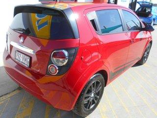2015 Holden Barina TM MY16 X Red 5 Speed Manual Hatchback