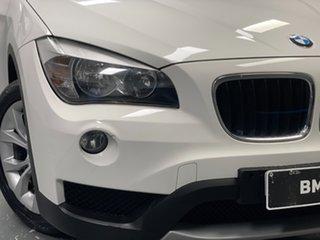 2013 BMW X1 E84 LCI sDrive20i Steptronic Alpine White 8 Speed Sports Automatic Wagon.