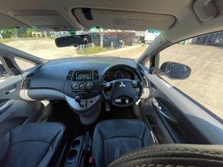 2010 Mitsubishi Grandis BA MY09 VR-X Black 4 Speed Sports Automatic Wagon.