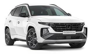 2021 Hyundai Tucson NX4.V1 MY22 Elite AWD N Line White Cream 8 Speed Automatic Wagon