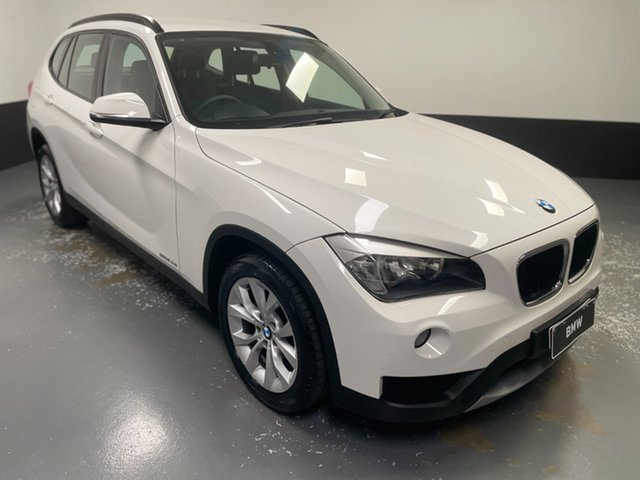 Used BMW X1 E84 LCI sDrive20i Steptronic Hamilton, 2013 BMW X1 E84 LCI sDrive20i Steptronic Alpine White 8 Speed Sports Automatic Wagon