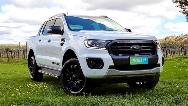 Used Ford Ranger PX MkIII 2019.00MY Wildtrak Nuriootpa, 2019 Ford Ranger PX MkIII 2019.00MY Wildtrak Arctic White 10 Speed Sports Automatic