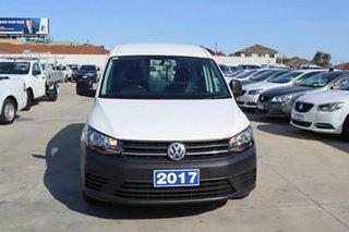 2017 Volkswagen Caddy 2KN MY17.5 TSI220 Maxi DSG White 7 Speed Sports Automatic Dual Clutch Van