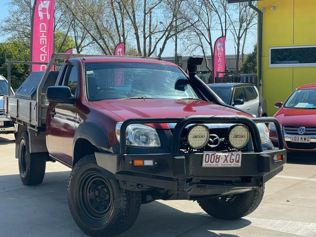 Used Mazda BT-50 UNY0E4 DX Toowoomba, 2009 Mazda BT-50 UNY0E4 DX Red 5 Speed Manual Cab Chassis