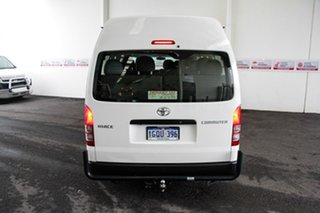 2016 Toyota HiAce KDH223R MY15 Commuter French Vanilla 4 Speed Automatic Bus