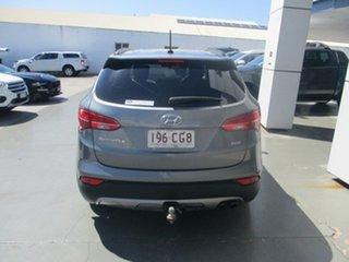 2015 Hyundai Santa Fe DM Series II (DM3) Elite CRDi (4x4) Grey 6 Speed Automatic Wagon.
