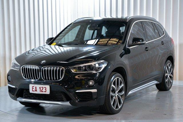 Used BMW X1 F48 xDrive25i Steptronic AWD Hendra, 2016 BMW X1 F48 xDrive25i Steptronic AWD Black 8 Speed Sports Automatic Wagon