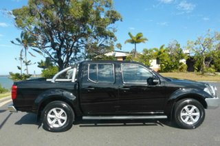2012 Nissan Navara D40 S6 MY12 ST Black 5 Speed Sports Automatic Utility.