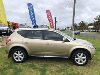 2008 Nissan Murano Z50 ST Gold 6 Speed Constant Variable Wagon.