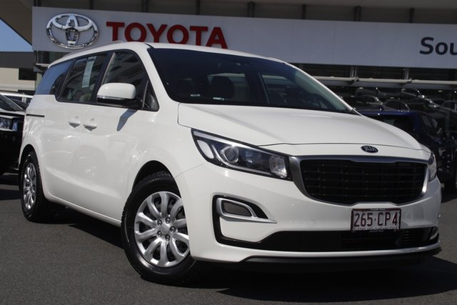 Pre-Owned Kia Carnival YP MY19 S Upper Mount Gravatt, 2019 Kia Carnival YP MY19 S White 8 Speed Sports Automatic Wagon