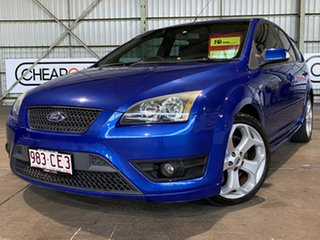 2007 Ford Focus LS XR5 Turbo Blue 6 Speed Manual Hatchback.