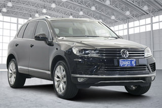 2015 Volkswagen Touareg 7P MY15 V6 TDI Tiptronic 4MOTION Black 8 Speed Sports Automatic Wagon.