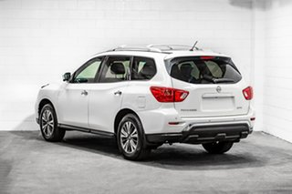 2016 Nissan Pathfinder R52 Series II MY17 ST-L X-tronic 2WD White 1 Speed Constant Variable Wagon.