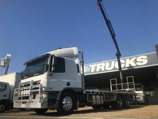 2008 DAF CF 75.360 White Crane Truck 9.2l.
