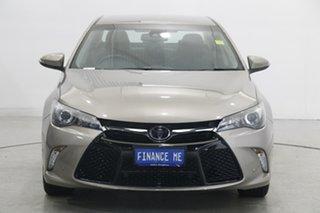 2017 Toyota Camry ASV50R Atara SL Bronze 6 Speed Sports Automatic Sedan.