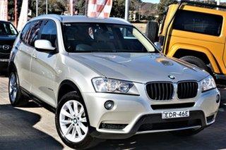 2013 BMW X3 F25 MY1112 xDrive20d Steptronic Silver 8 Speed Automatic Wagon.