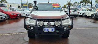2012 Holden Colorado RG MY13 LT Crew Cab White 5 Speed Manual Utility.