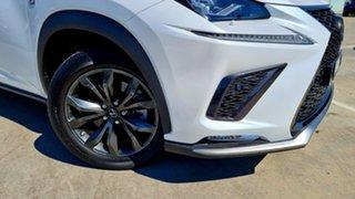 2019 Lexus NX AGZ15R NX300 AWD F Sport White 6 Speed Sports Automatic Wagon.