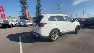 2019 Mitsubishi Outlander ZL MY19 LS AWD White 6 Speed Constant Variable Wagon.