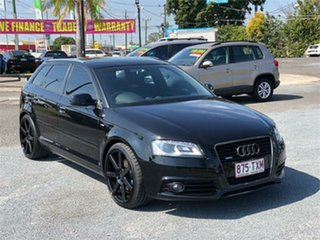 2010 Audi A3 8P TFSI Ambition Black 7 Speed Sports Automatic Dual Clutch Hatchback.