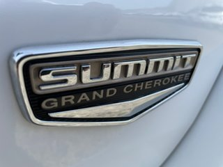 2013 Jeep Grand Cherokee WK MY2014 Summit White 8 Speed Sports Automatic Wagon