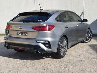 2019 Kia Cerato BD MY19 GT DCT Grey 7 Speed Sports Automatic Dual Clutch Hatchback.
