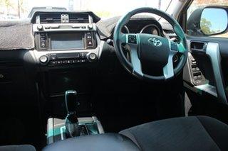 2017 Toyota Landcruiser Prado GDJ150R GXL Silver Pearl 6 Speed Automatic Wagon