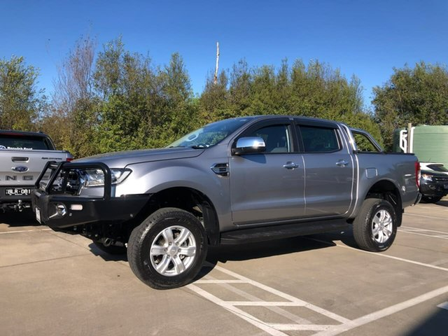 Used Ford Ranger PX MkIII 2019.00MY XLT Berwick, 2019 Ford Ranger PX MkIII 2019.00MY XLT Silver 10 Speed Sports Automatic Double Cab Pick Up