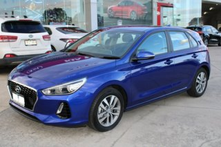 2020 Hyundai i30 PD2 MY20 Active Blue 6 Speed Sports Automatic Hatchback.