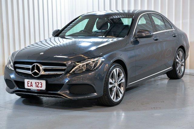 Used Mercedes-Benz C-Class W205 C200 7G-Tronic + Hendra, 2015 Mercedes-Benz C-Class W205 C200 7G-Tronic + Grey 7 Speed Sports Automatic Sedan