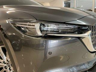 2021 Mazda CX-8 KG4W2A Asaki SKYACTIV-Drive i-ACTIV AWD Grey 6 Speed Sports Automatic Wagon.