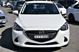 2015 Mazda 2 DJ2HA6 Maxx SKYACTIV-MT White 6 Speed Manual Hatchback.