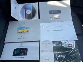 2000 Mercedes-Benz SLK-Class R170 SLK230 Kompressor Silver 6 Speed Manual Roadster