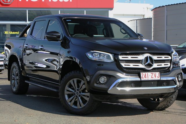 Used Mercedes-Benz X-Class 470 X250d 4MATIC Power Toowoomba, 2018 Mercedes-Benz X-Class 470 X250d 4MATIC Power Black 7 Speed Sports Automatic Utility