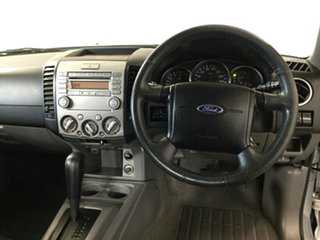 2011 Ford Ranger PK XLT Crew Cab Silver 5 Speed Automatic Utility