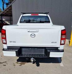 2021 Mazda BT-50 TFS40J XT Ice White 6 Speed Sports Automatic Utility.
