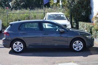 2021 Volkswagen Golf 8 MY21 110TSI Dolphin Grey 8 Speed Sports Automatic Hatchback