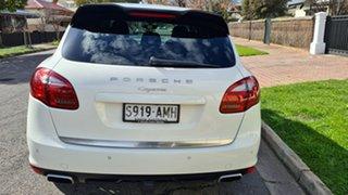 2011 Porsche Cayenne Series 2 MY12 Diesel White 8 Speed Automatic Tiptronic Wagon