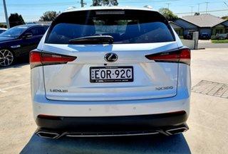 2019 Lexus NX AGZ15R NX300 AWD F Sport White 6 Speed Sports Automatic Wagon