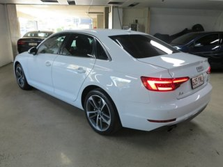 2017 Audi A4 B9 8W MY17 Sport S Tronic White 7 Speed Sports Automatic Dual Clutch Sedan